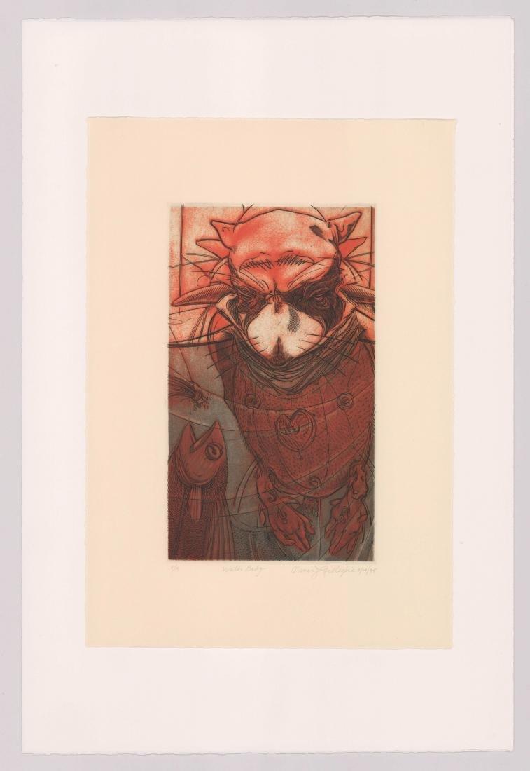 Oscar Jay Gillespie (born 1952) Etching - 2