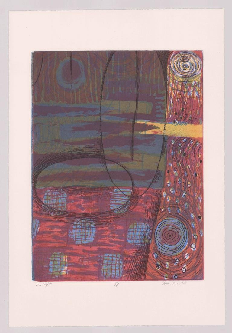 Karen Kunc Etching In Colors - 2
