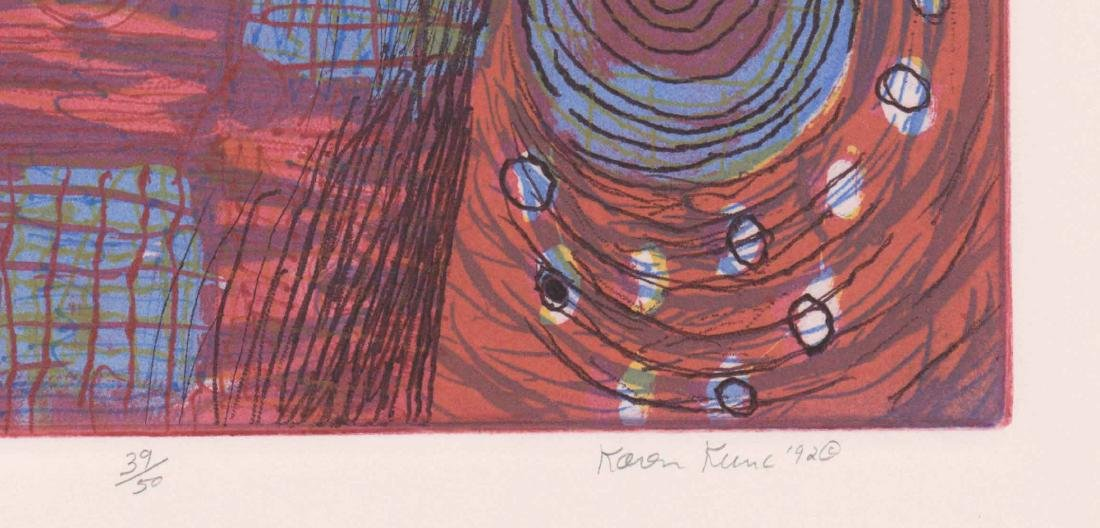 Karen Kunc Etching In Colors - 3