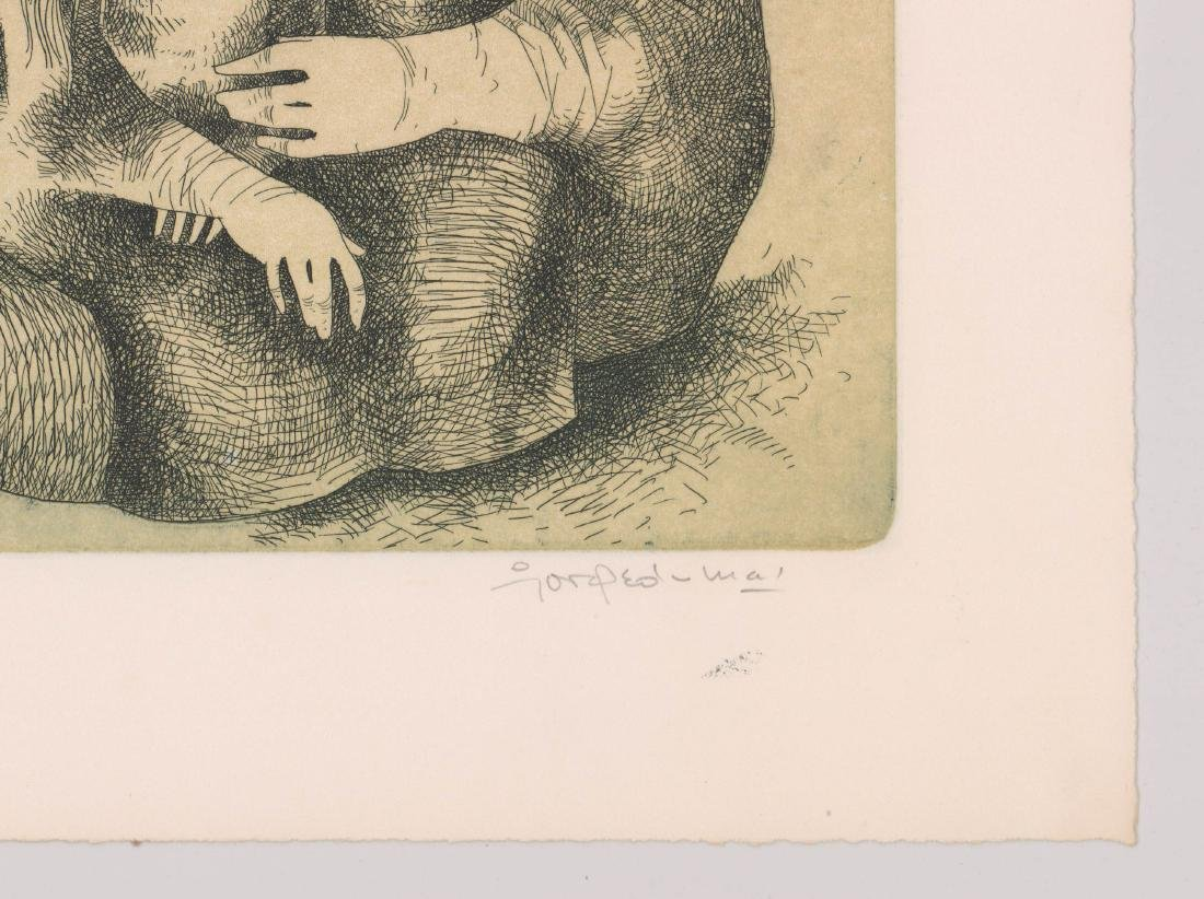 Jorge Dumas Etching From Estate of Artist - 3