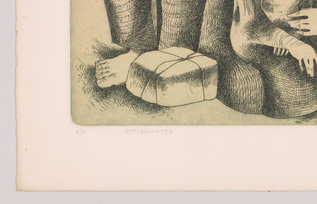 Jorge Dumas Etching From Estate of Artist - 4