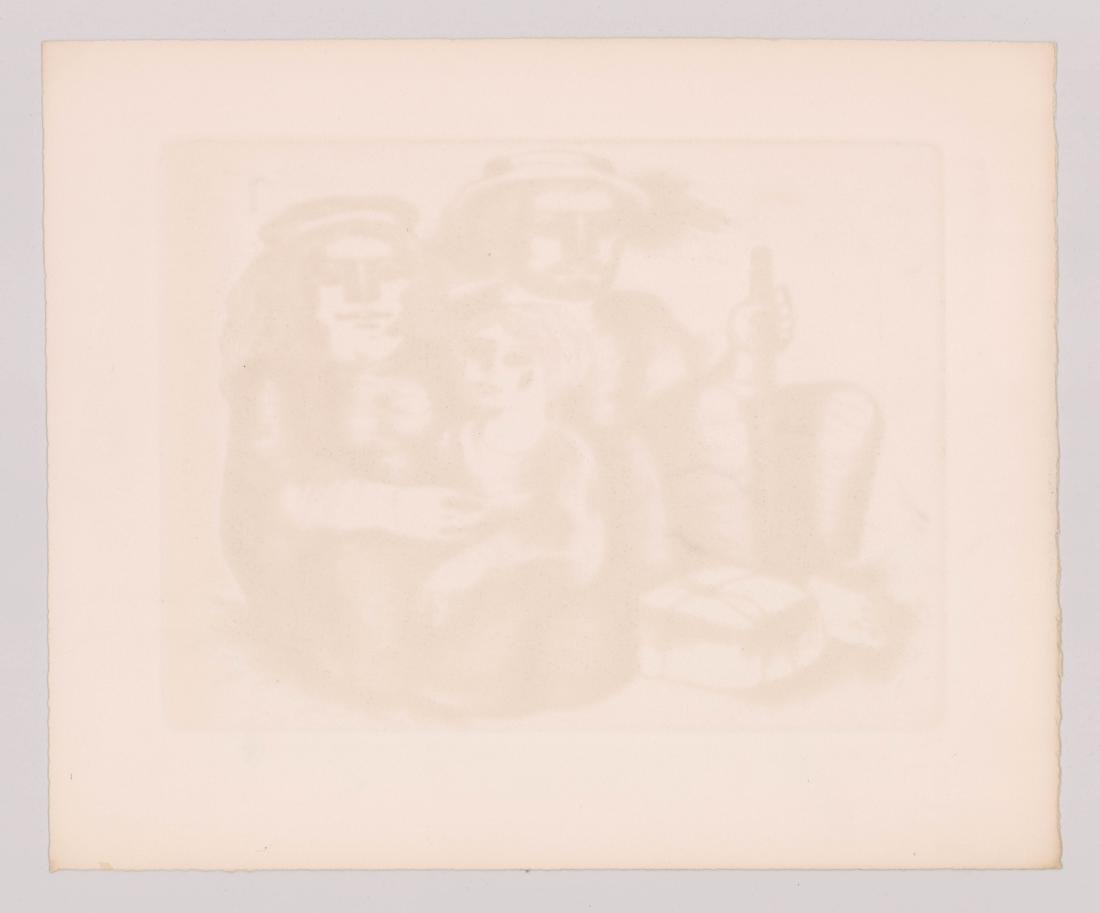 Jorge Dumas Etching From Estate of Artist - 5