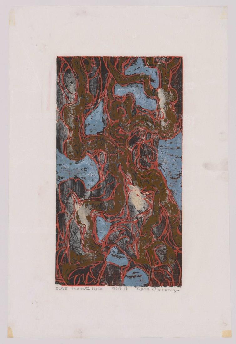 William Ross Abrams (New York b. 1920) Woodcut - 2