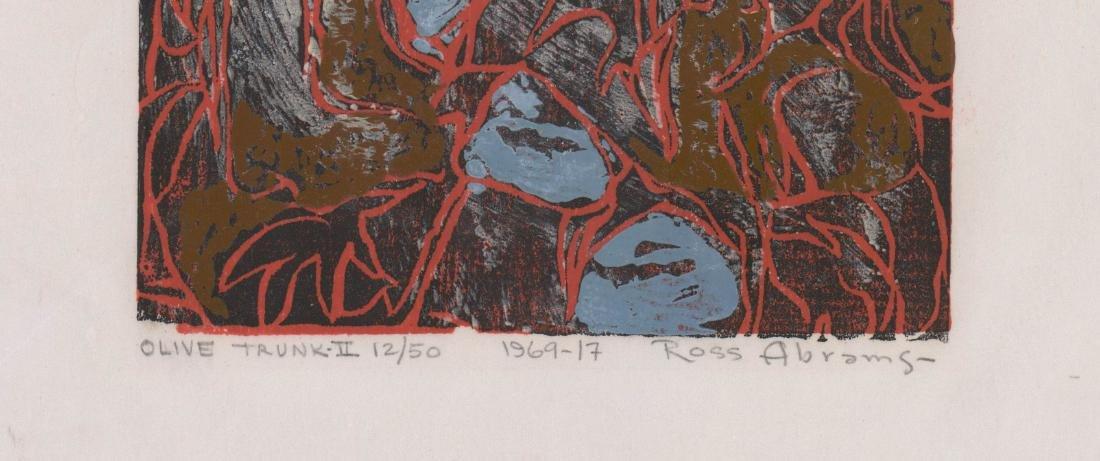 William Ross Abrams (New York b. 1920) Woodcut - 3