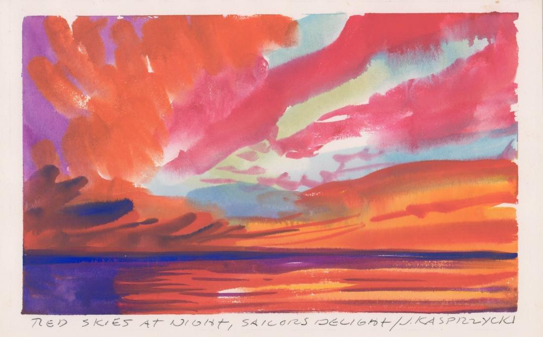 Jan Kasprzycki (Hawaii 20th Century) Original Art