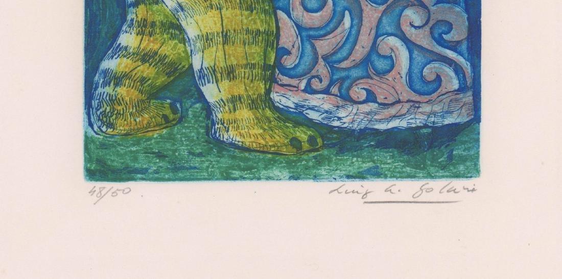 Luis Alberto Solari (1918 - 1993) Color Etching - 3