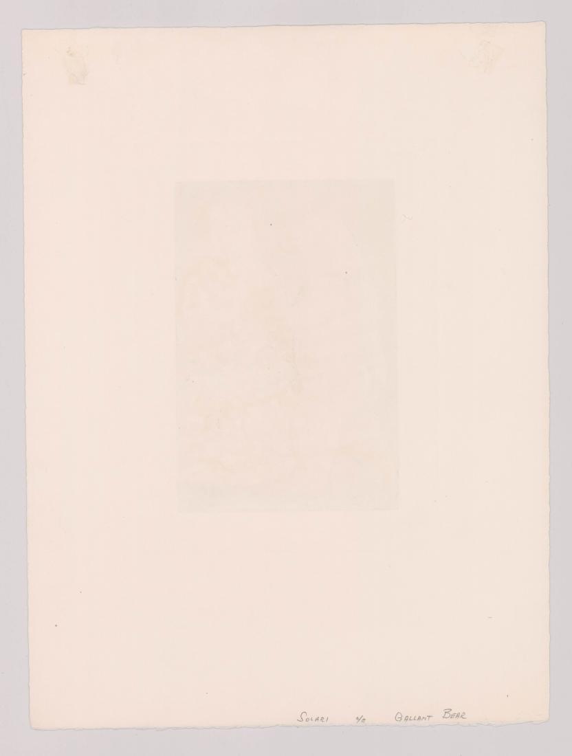 Luis Alberto Solari (1918 - 1993) Color Etching - 4