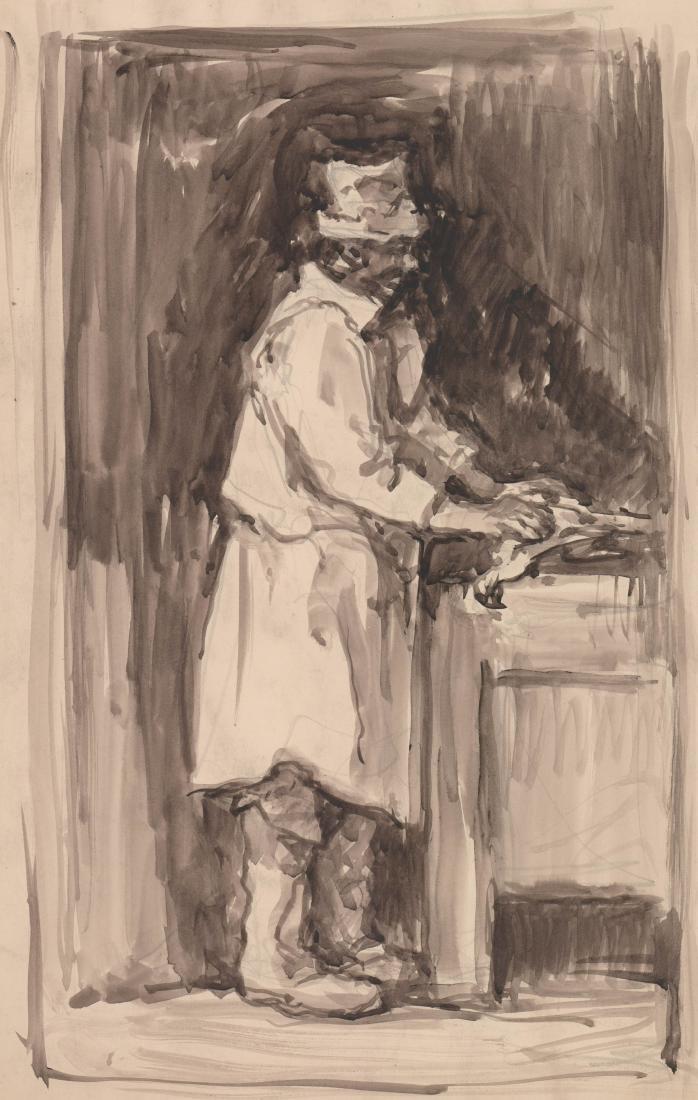 Eugene Higgins (1874-1958) Original Watercolor