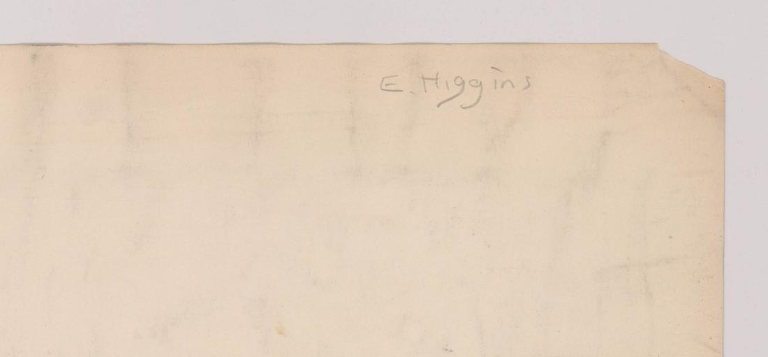 Eugene Higgins (1874-1958) Original Watercolor - 4