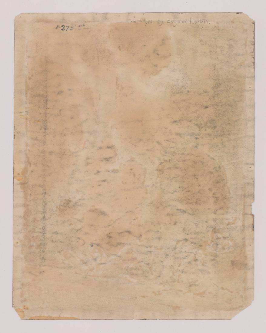Eugene Higgins Monotype - 3