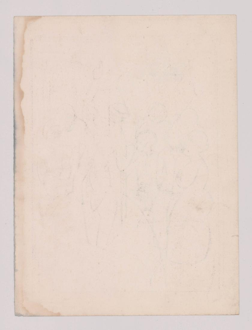 Zola Marcus (New York 1915-1998) Drawing - 4