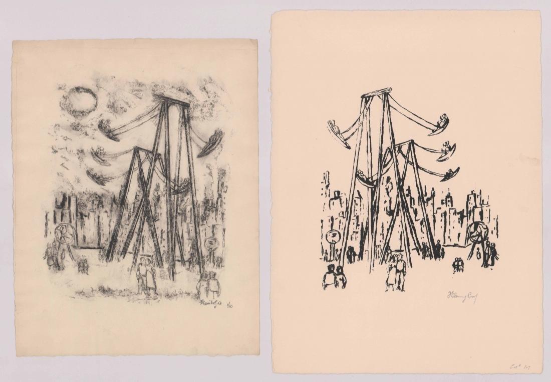 Frank Kleinholz Lithographs