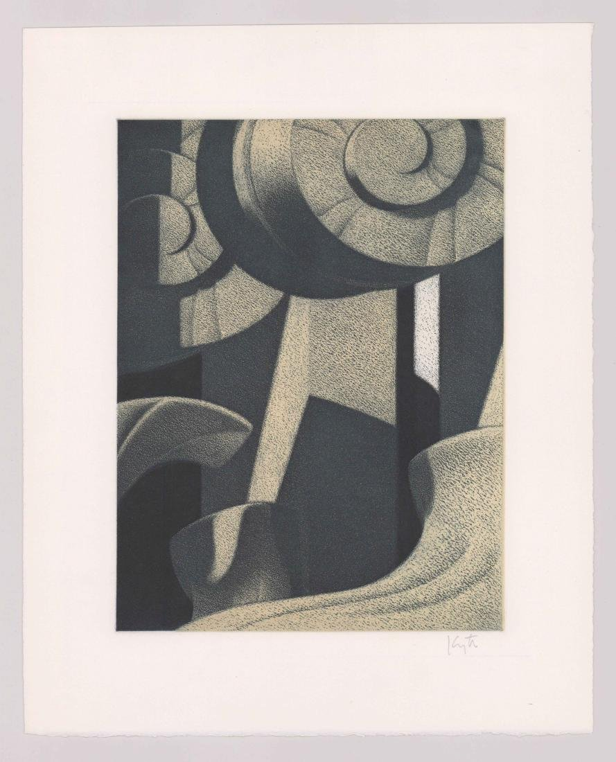 Hugh Kepets Aquatint - 2