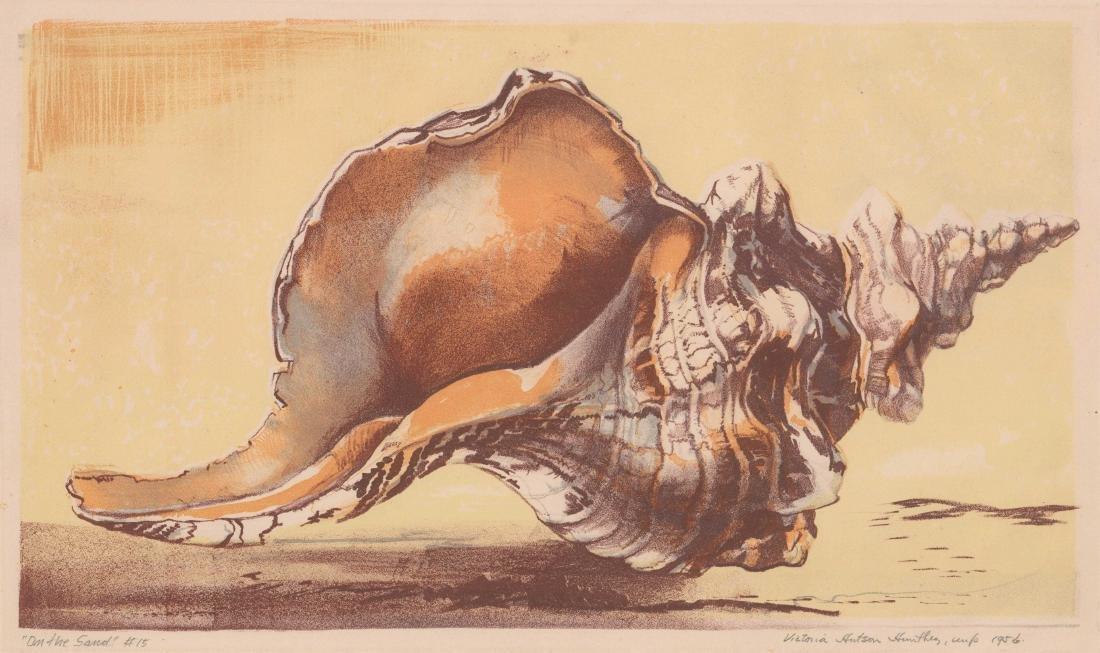 Victoria Hutson Huntley Lithograph