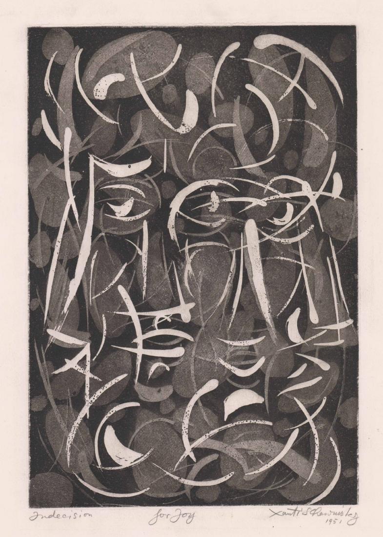Xanti Schawinsky (New York 1904-1979) Etching
