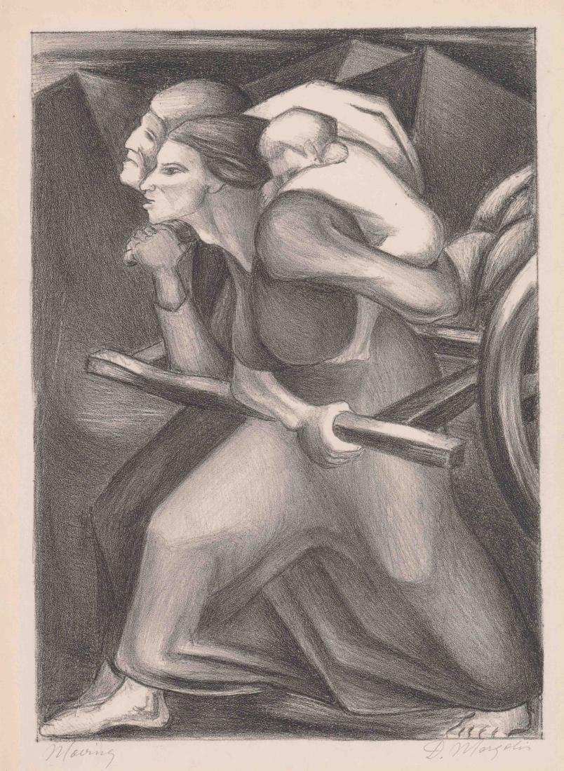 David Margolis (New York born 1910) Lithograph