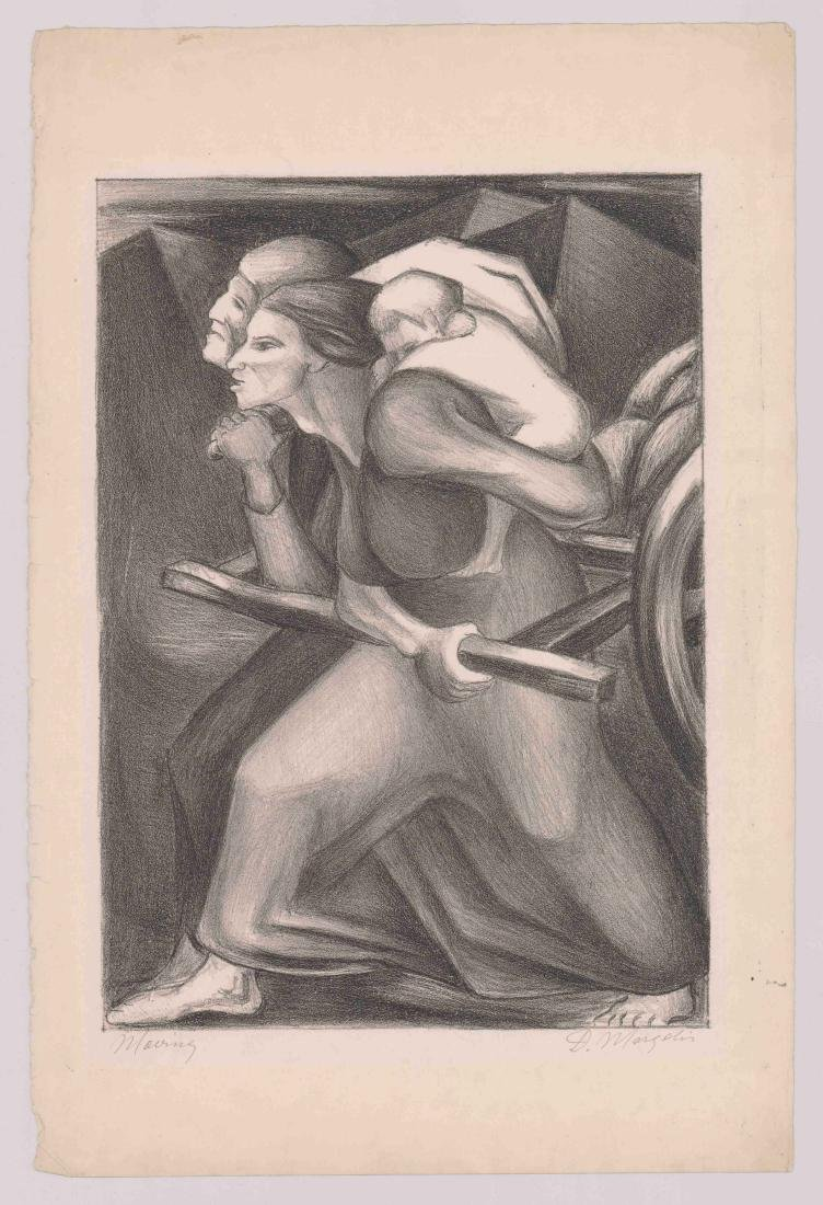 David Margolis (New York born 1910) Lithograph - 2