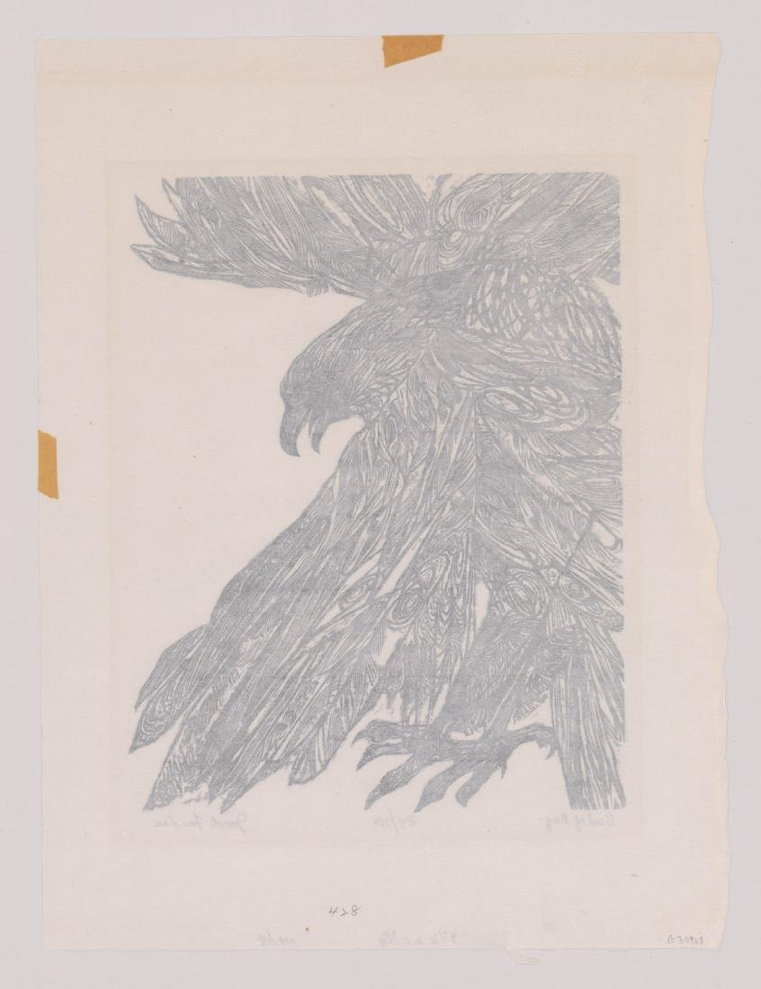 Jacob Landau Woodcut - 4