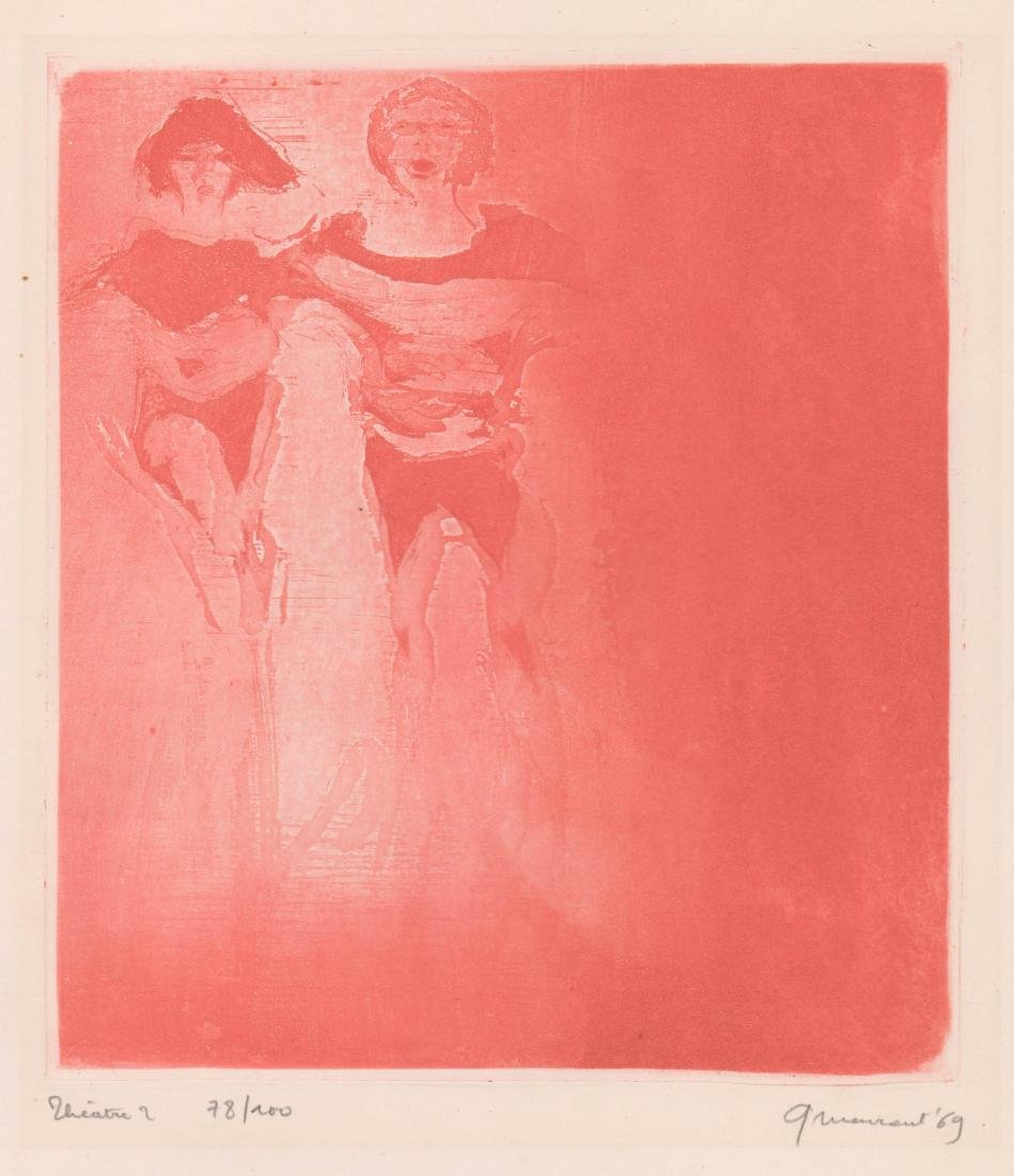 George Meurant Etching