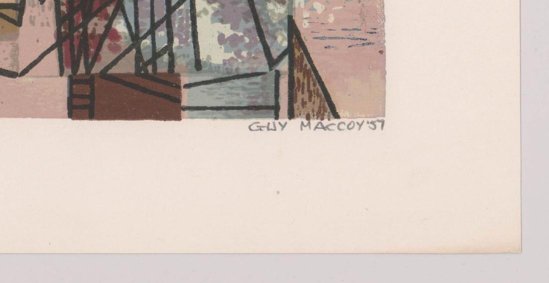 Guy Maccoy Serigraph - 3