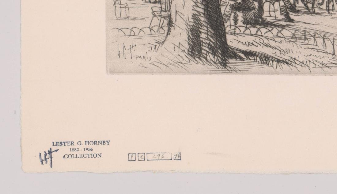 Lester G. Hornby Etching - 3