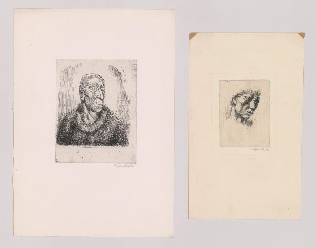 Kenneth Hayes Miller Etchings