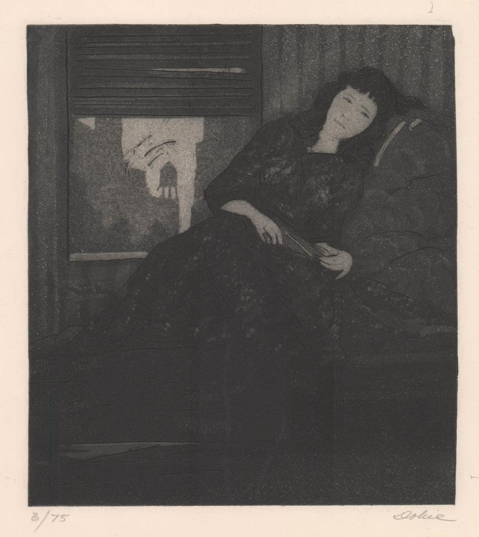 Leon Dolice(American 1892-1960) Etching