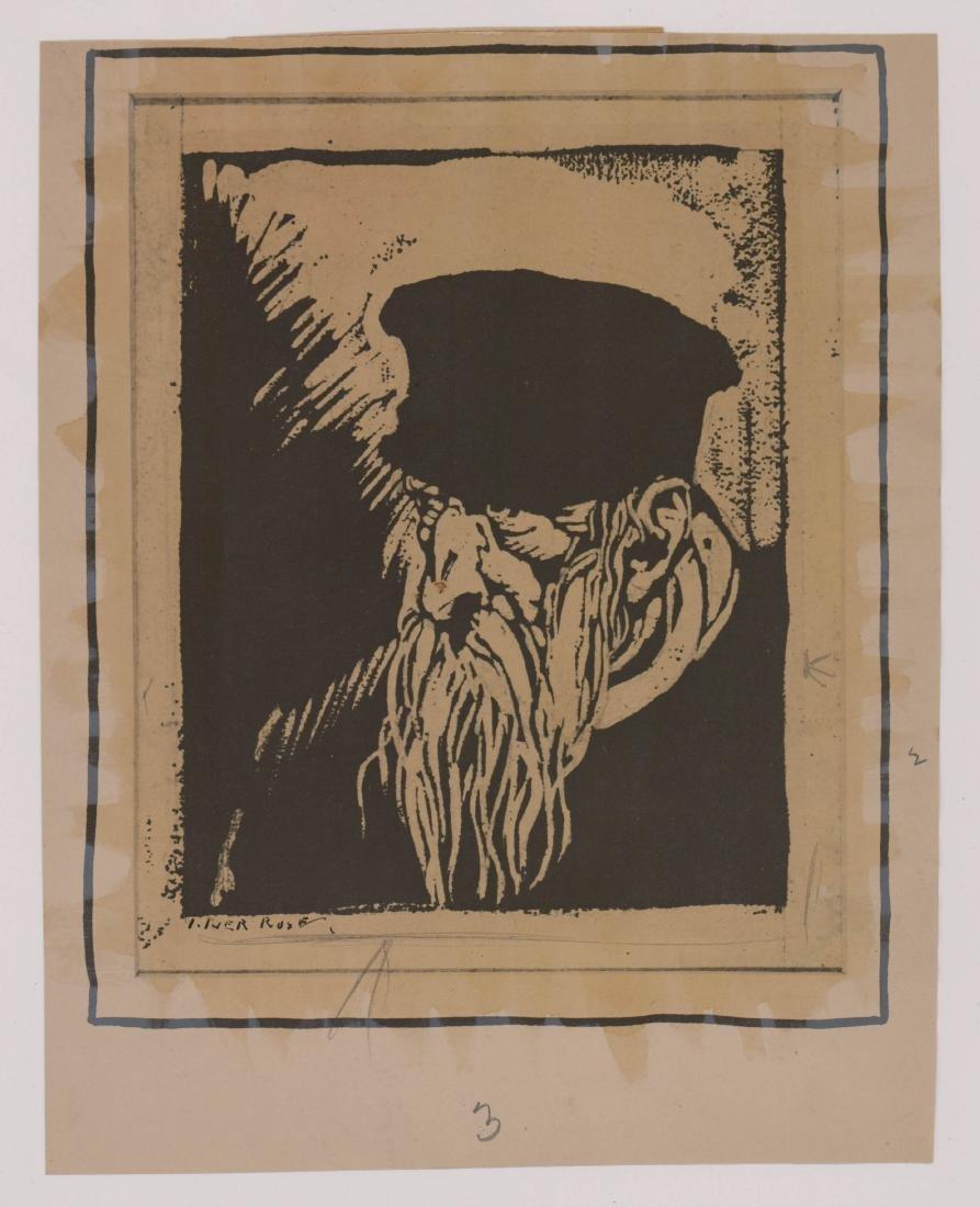 Iver Rose Signed Print - 2