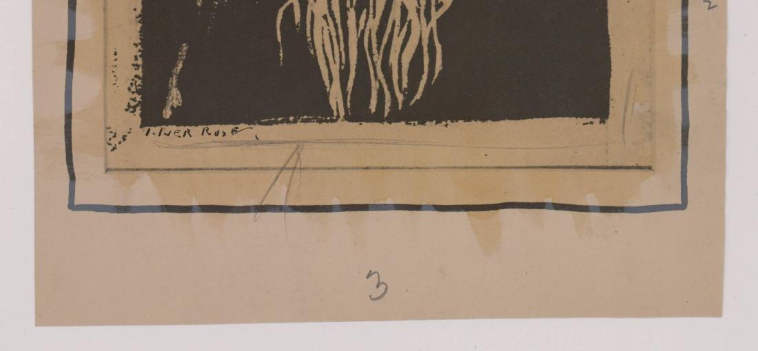 Iver Rose Signed Print - 3