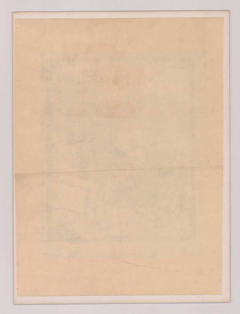 Iver Rose Woodblock Print - 4
