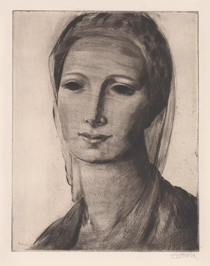 Frederic Taubes Etching