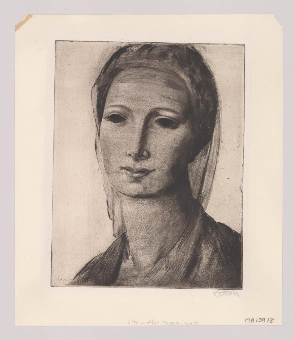 Frederic Taubes Etching - 2