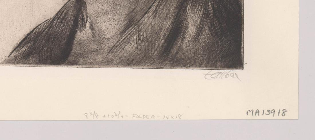 Frederic Taubes Etching - 3