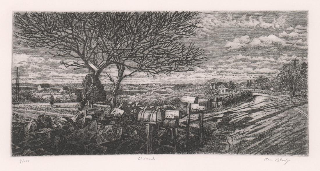 Alan Petrulis Etching