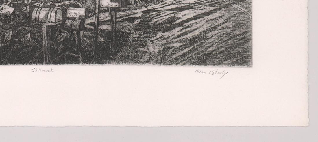 Alan Petrulis Etching - 4