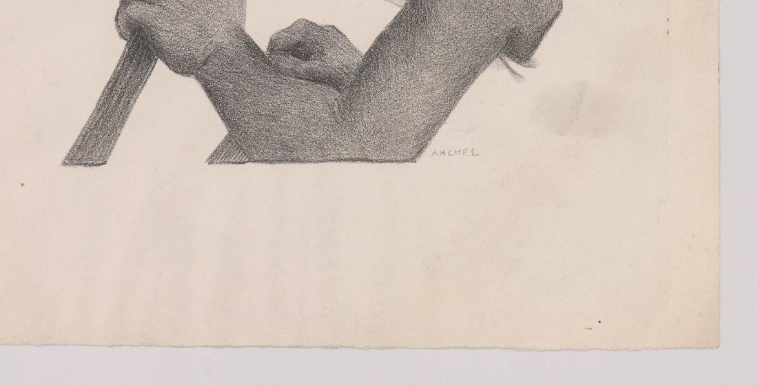 Harold Anchel (1912-1980) Lithograph - 3