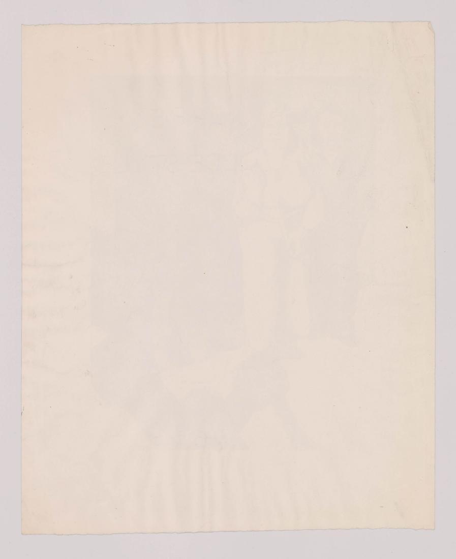 Harold Anchel (1912-1980) Lithograph - 4