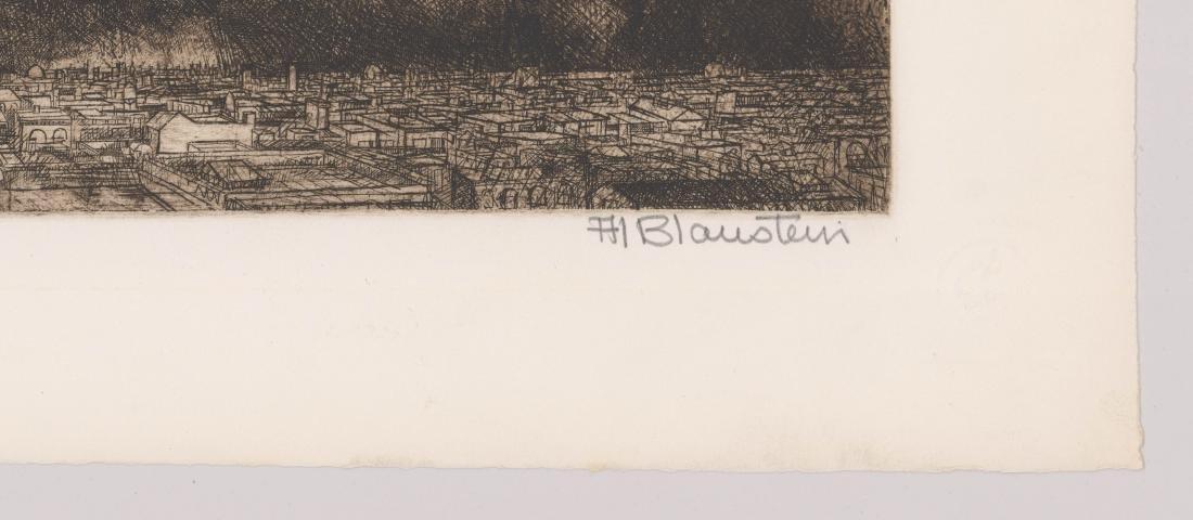 Al Blaustein Etching - 3