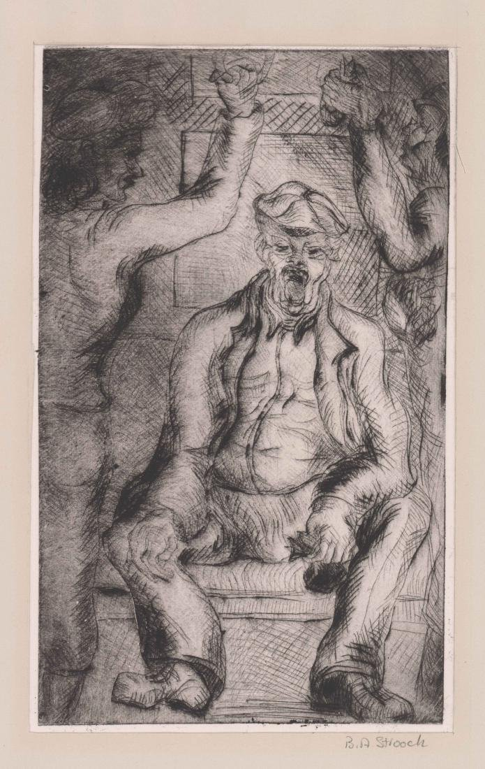 Barbara Stroock Etching