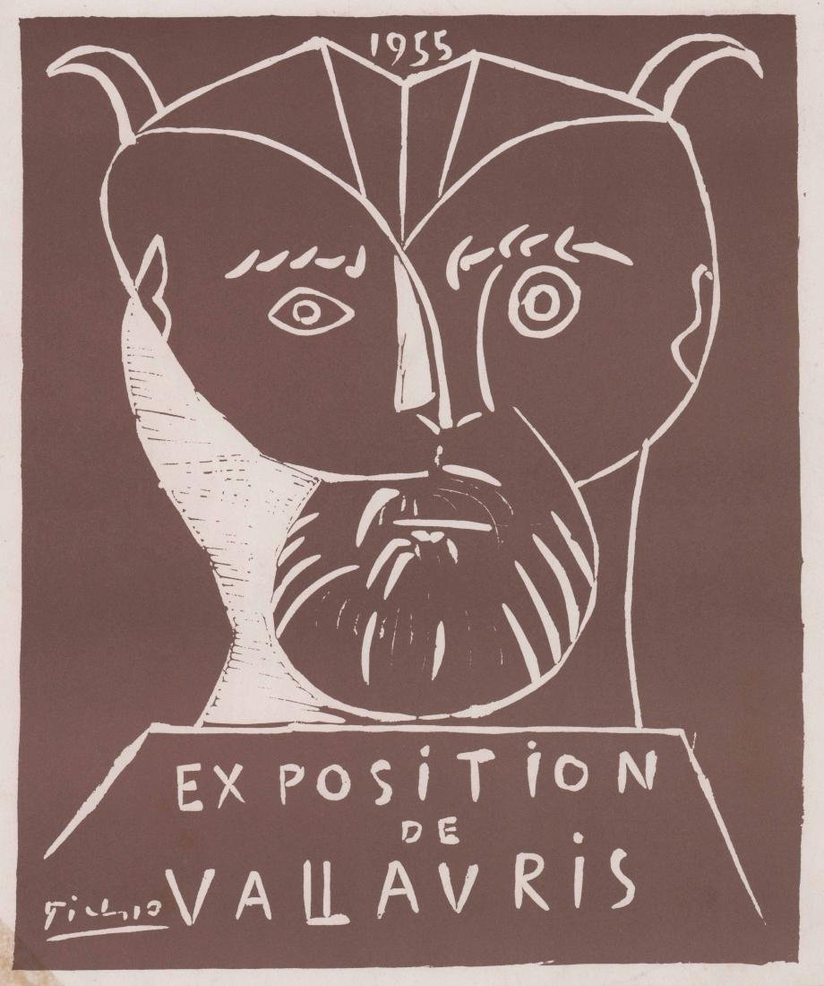 Exposition Vallauris 1955 By Picasso Print