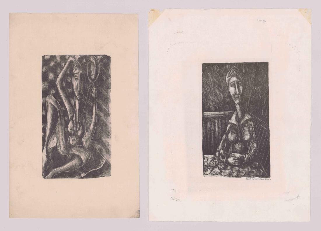 Bernard Zawisa (1920-1985) Lithographs