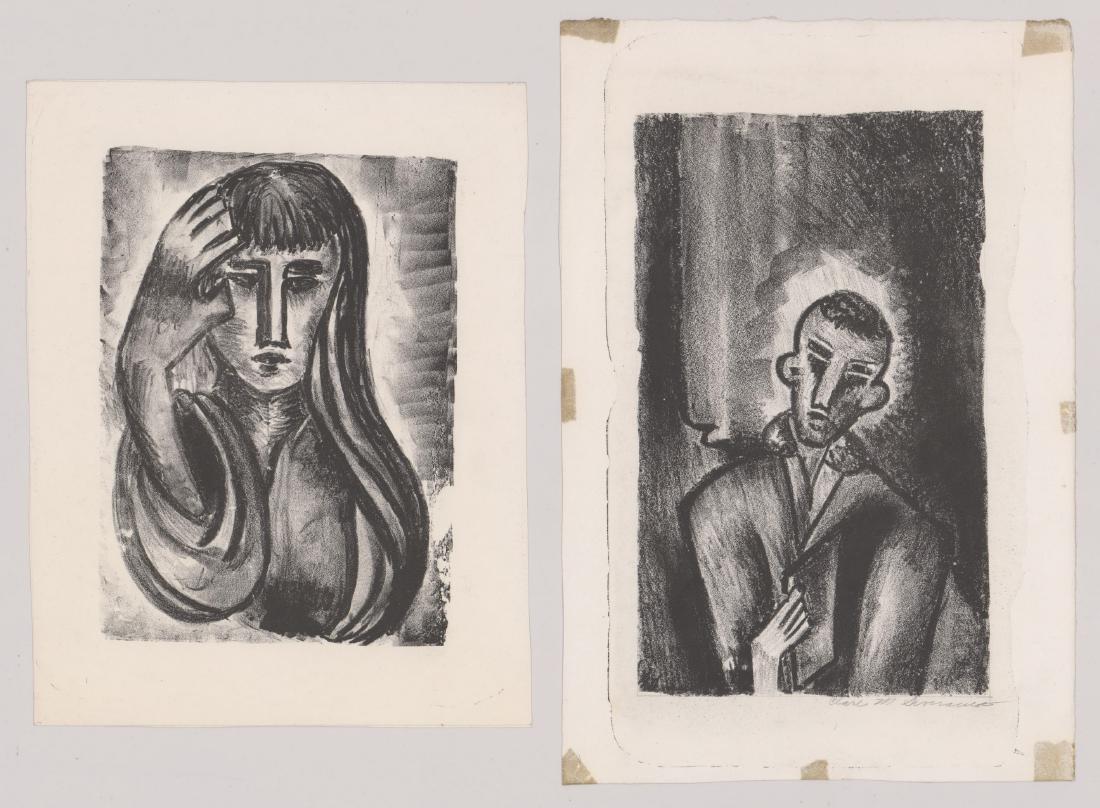 Clare M. Severance (1887-1955) Lithographs