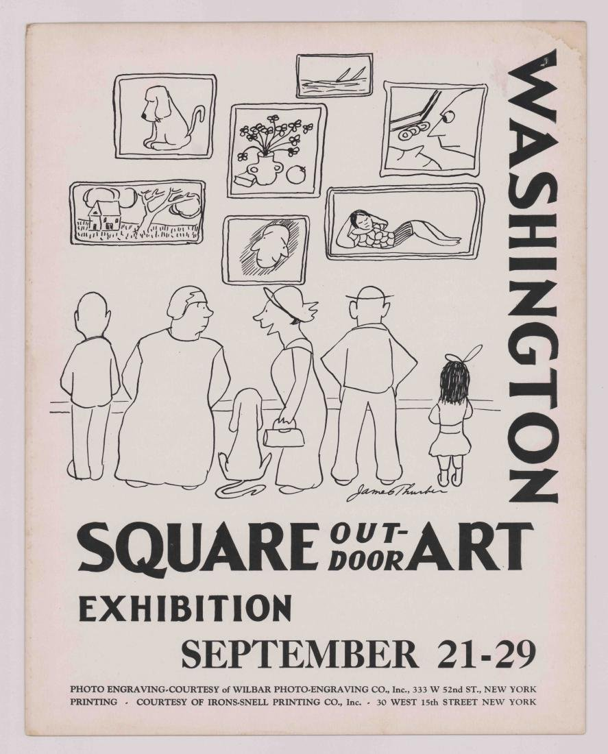 Washington Square Art Exhibition New York Poster