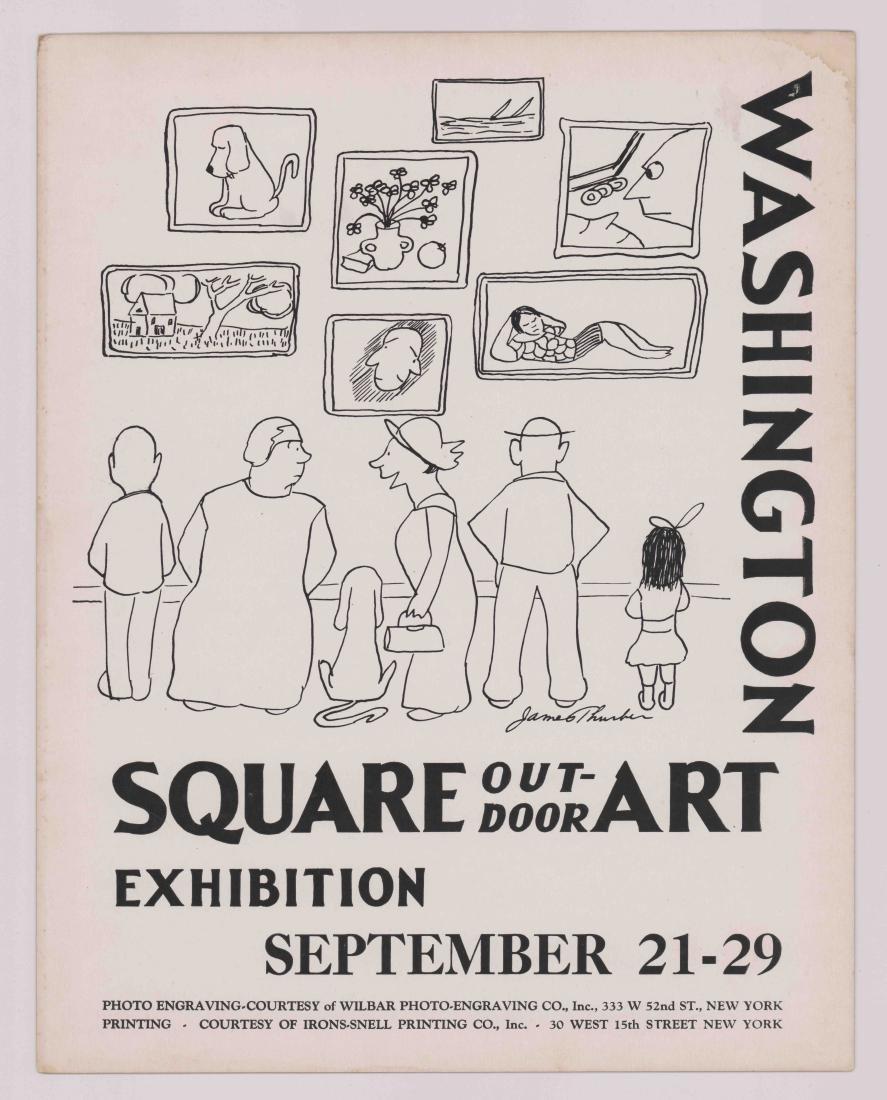 Washington Square Art Exhibition New York Poster