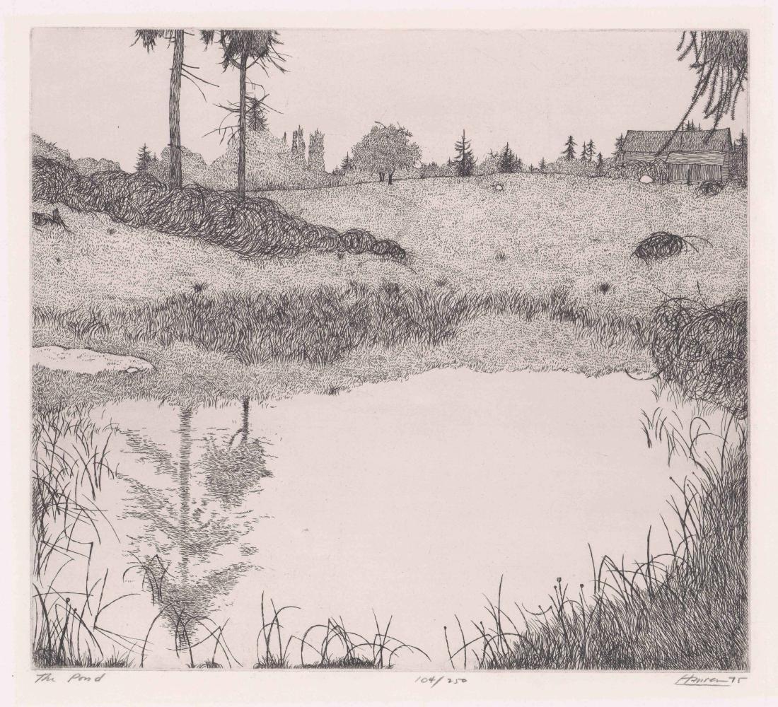 Art Hansen Etching