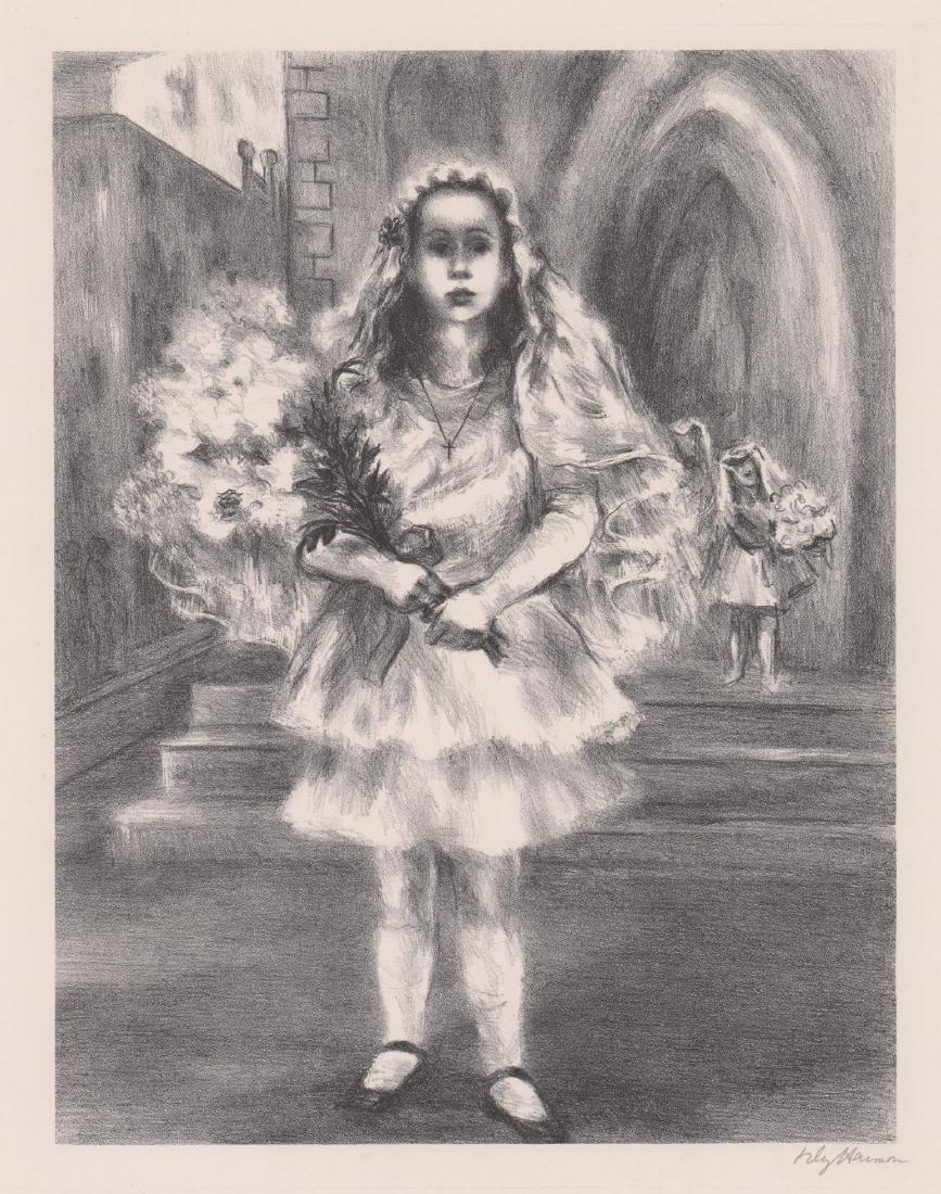 Lily Harmon Lithograph
