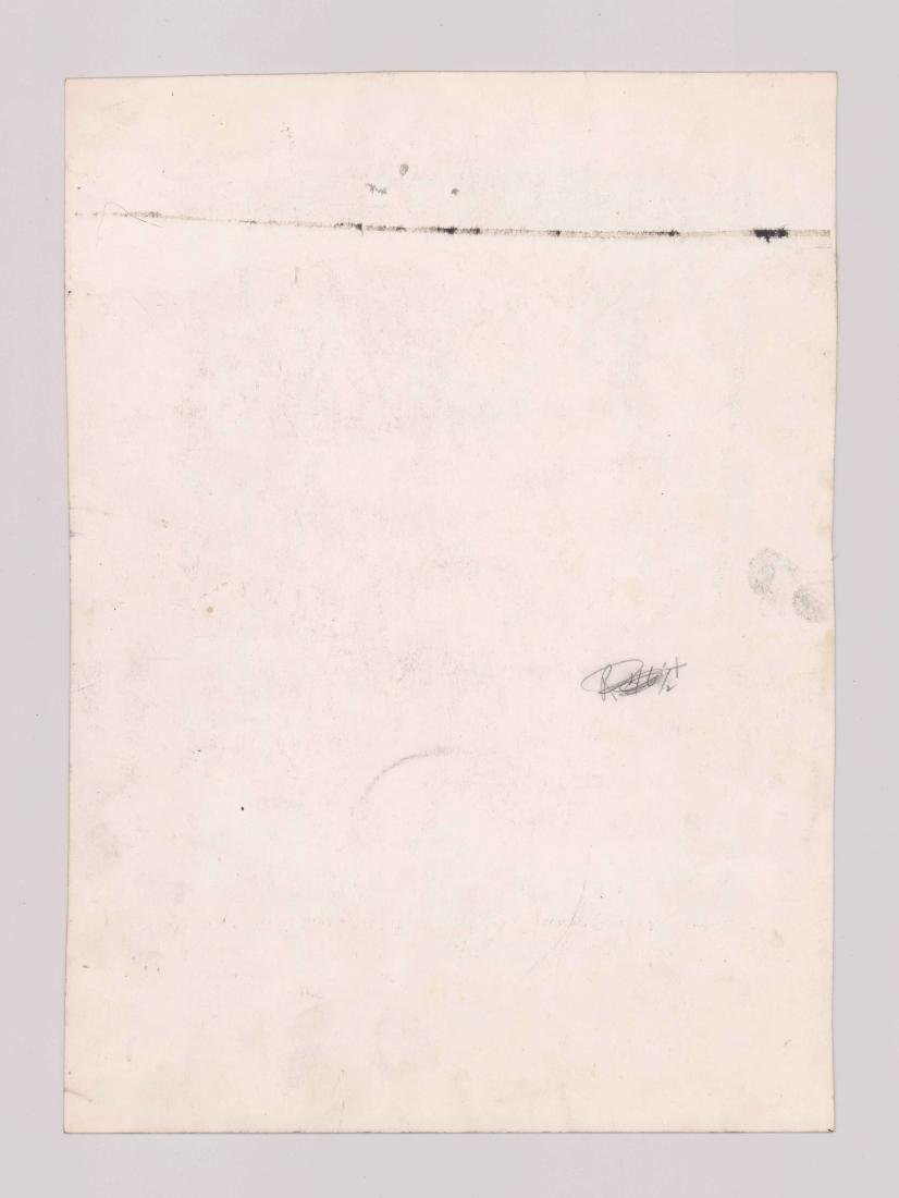 Carlos Llerena Aguirre (1952-) Original Drawing - 4