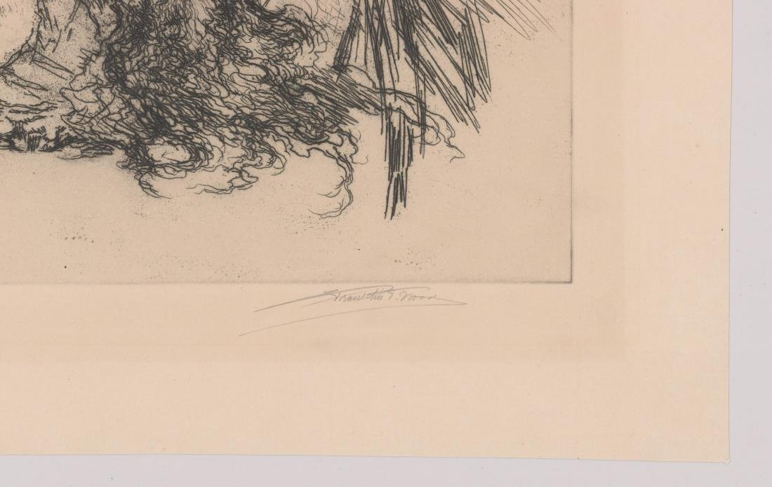 Franklin T. Wood Etching [Tolstoy] - 3