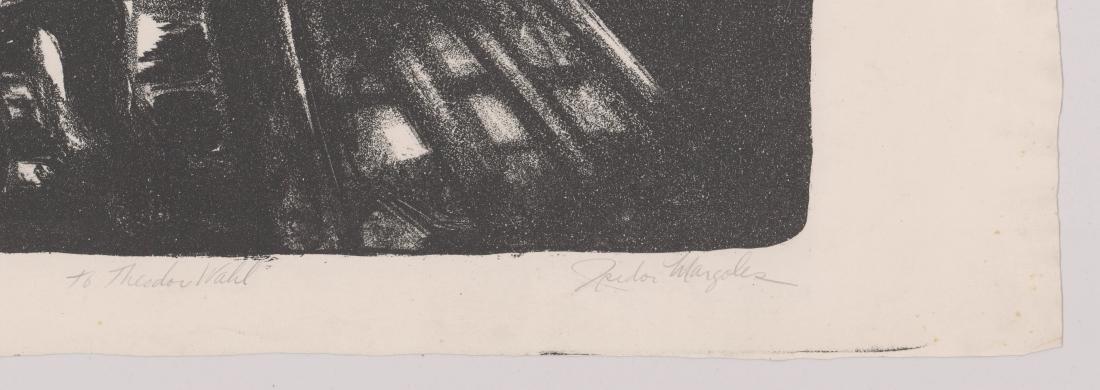 Isidor Margoles Lithograph E/O Theodore Wahl - 3
