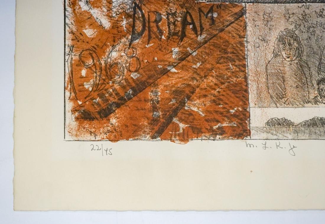 Chaim Gross Lithograph [M.L.K. Jr.] - 3
